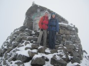Top of Ben Nevis, Scotland 2013