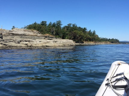 Kayaking near Sidney